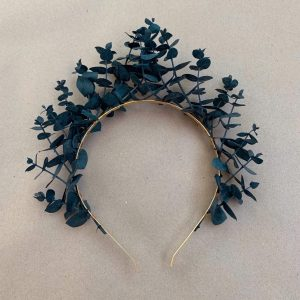 Blue Eucalyptus Headband